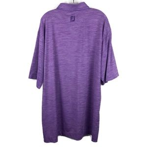 FootJoy Shirts - FootJoy Purple Short Sleeve polo shirt XXL 2XL